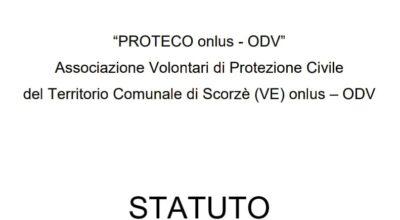 Nuovo Statuto ODV